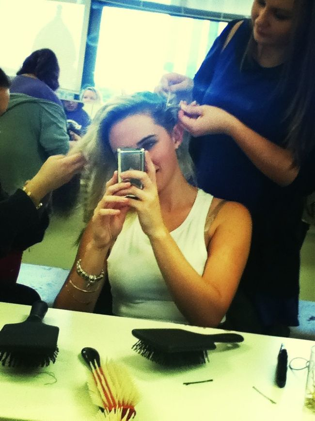 Getting My Hair Done At Course