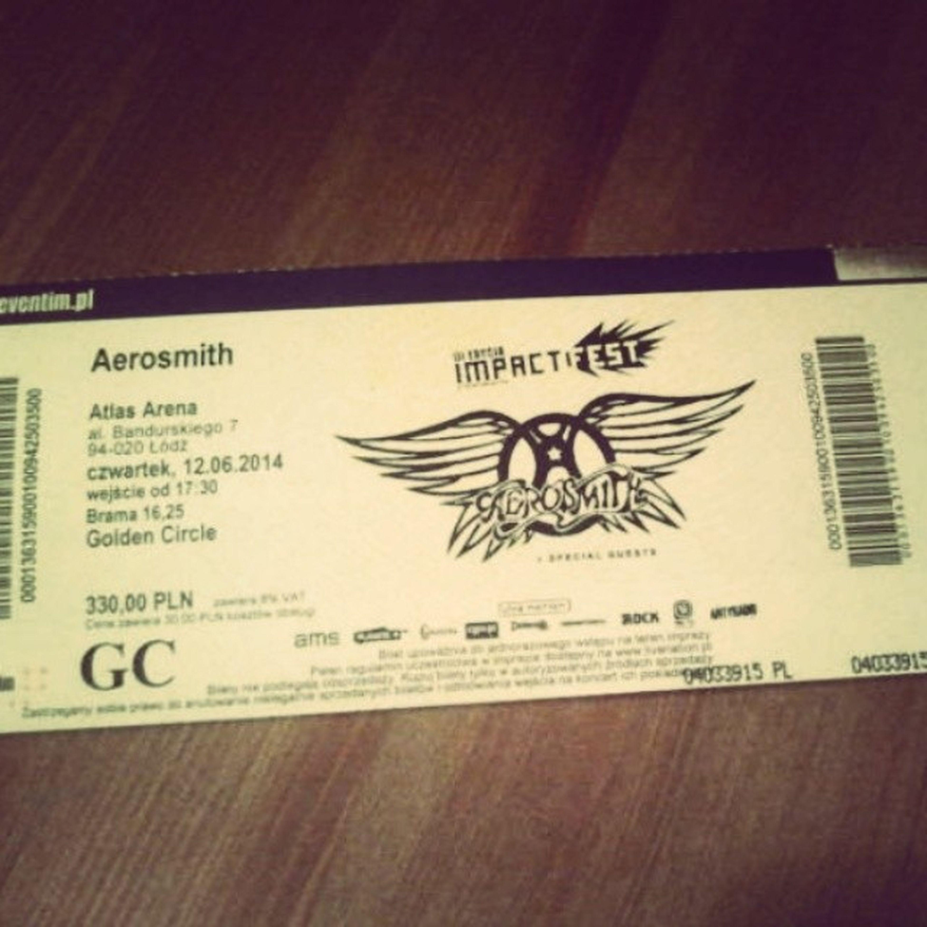 Aerosmith Bilet Koncert Jaram_się Love Me Like Girl Happy Swag Amazing Fun Summer Smile Bedzie_super