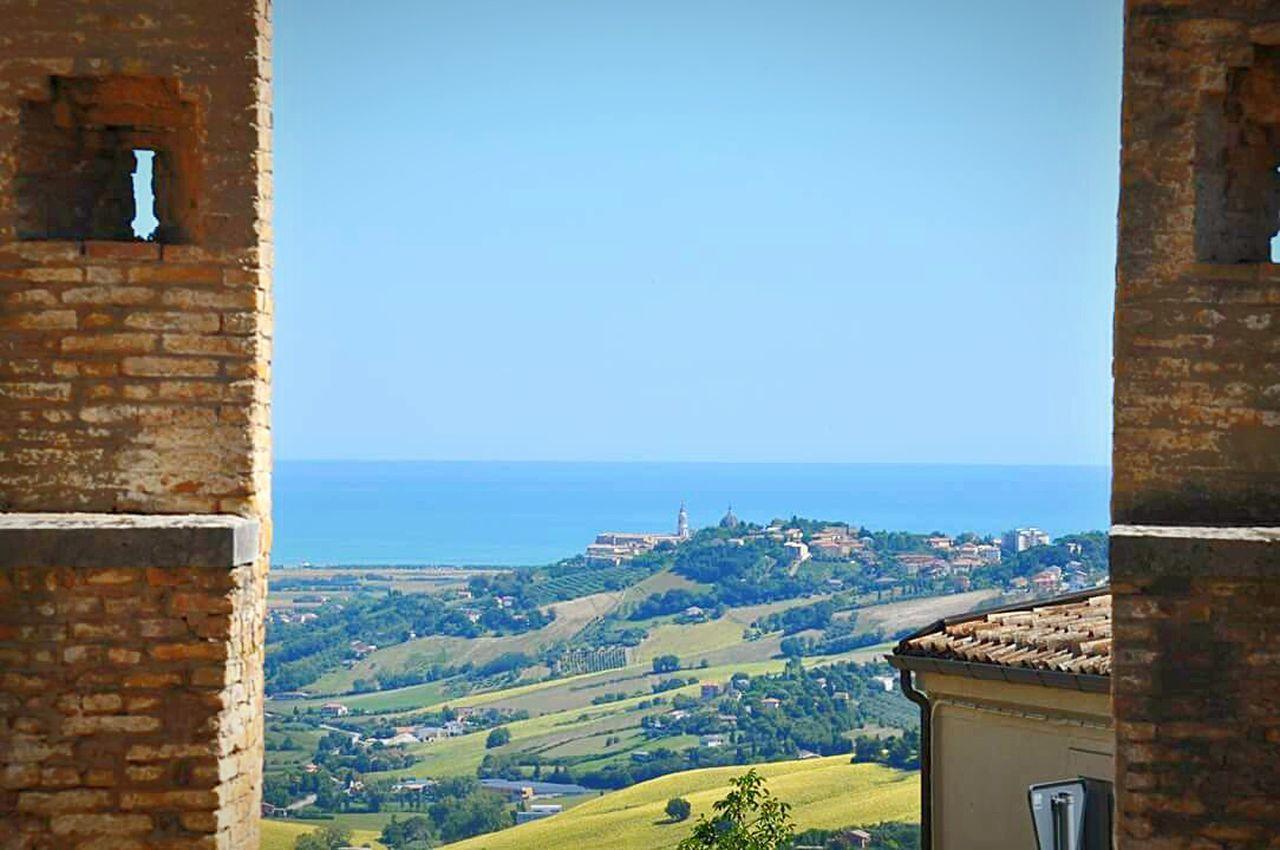 город известного итальянского писателя!!!! Recanati,Italy