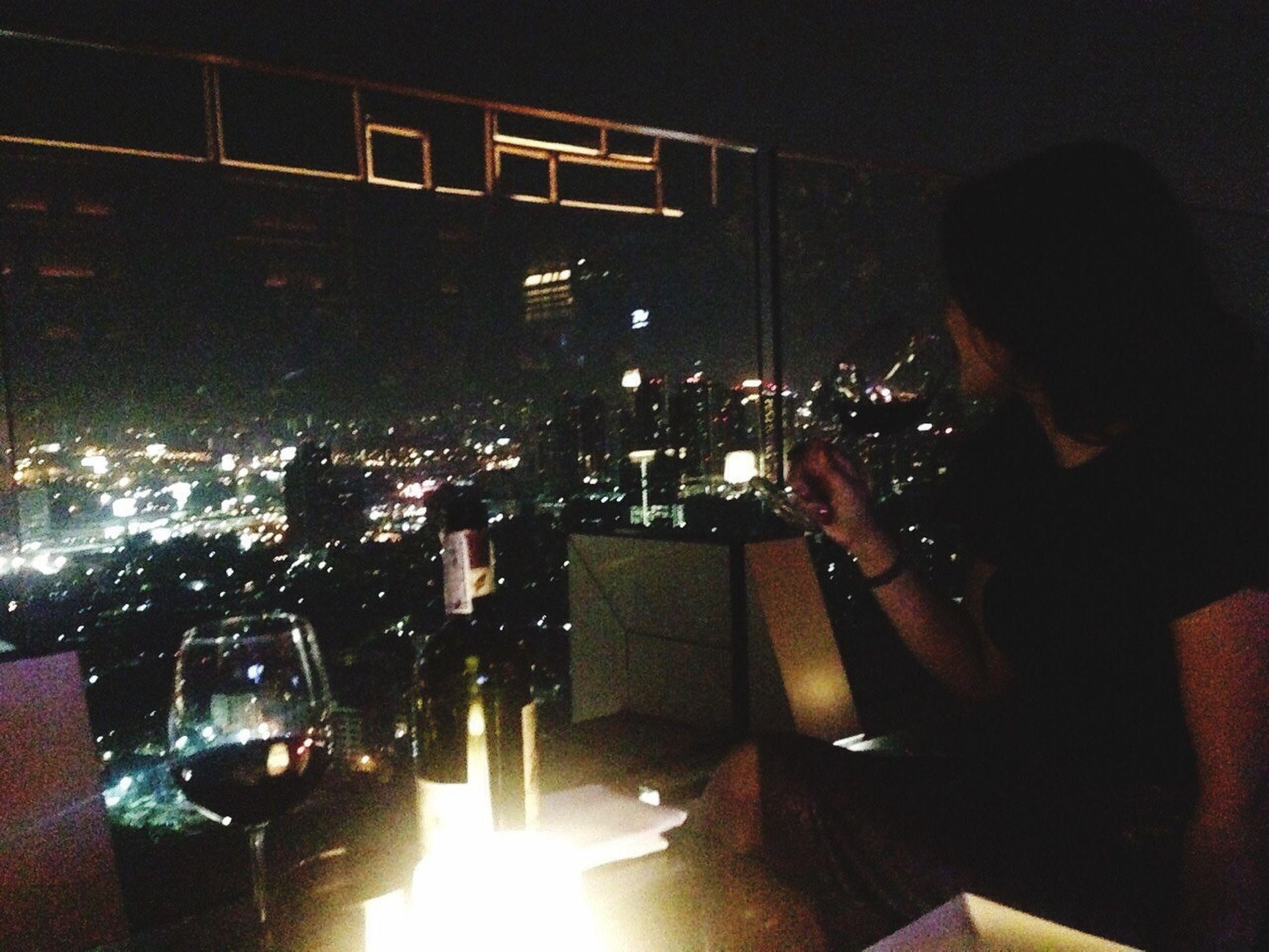 Hang out Eating Thailand Bangkok Octavelooftop Marriott Dinner Time Famust