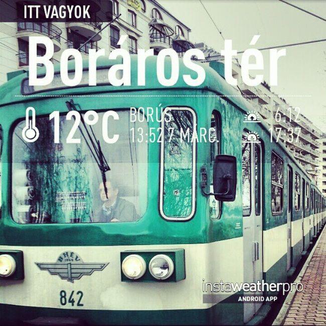 Budapest HÉV Boraroster Instaweather Weather