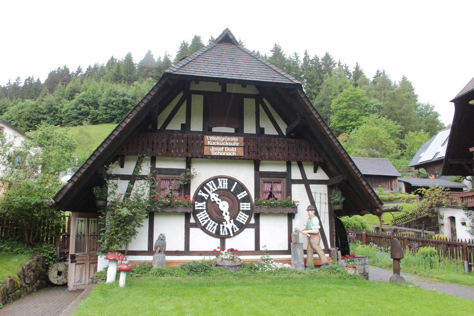 First World's Largest Cuckoo Clock Architecture Façade Outdoors First Eyeem Photo