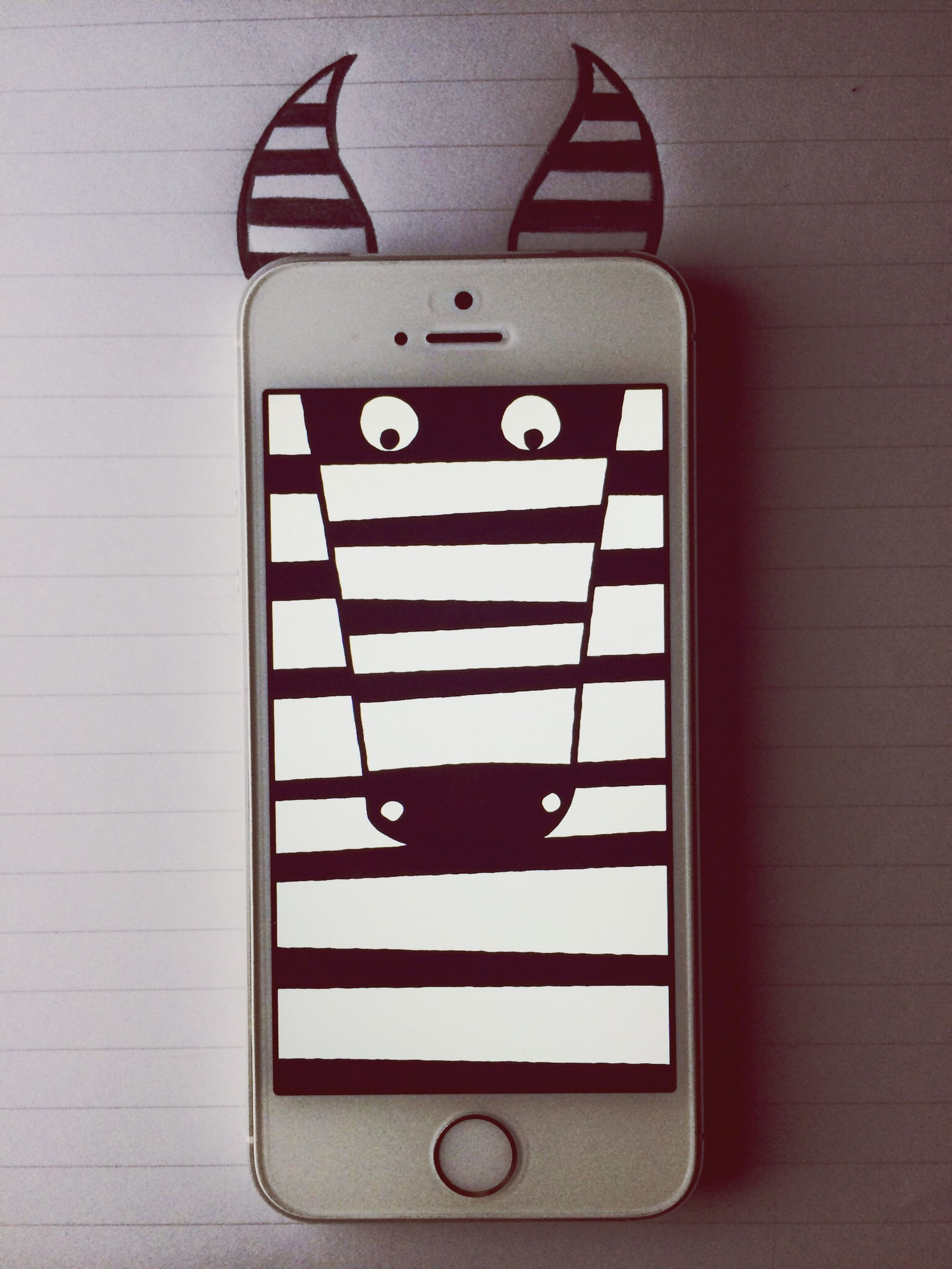 Iphone5s Zebra Ipainting Painting