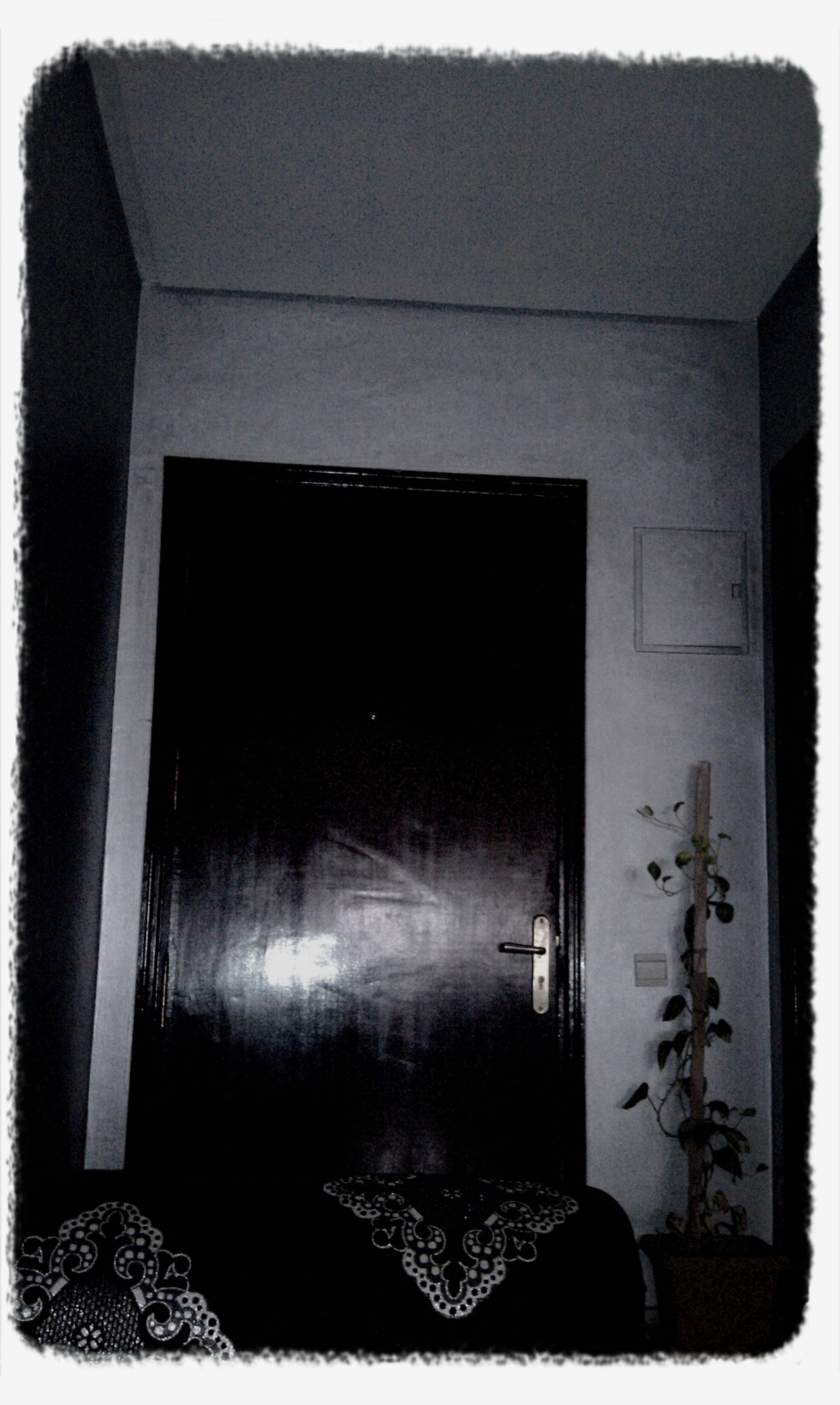 door, closed, built structure, architecture, building exterior, transfer print, house, window, auto post production filter, old, protection, safety, security, wall - building feature, entrance, no people, residential structure, indoors, wood - material, wall