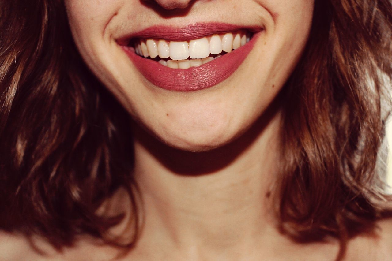 Human Mouth One Person Human Teeth Smiling Front View Close-up Human Body Part Indoors  Human Lips Happiness Dental Health Women Human Face Real People Cheerful Headshot Young Women Young Adult Beautiful Woman One Woman Only Happy Smile BYOPaper! BYOPaper!