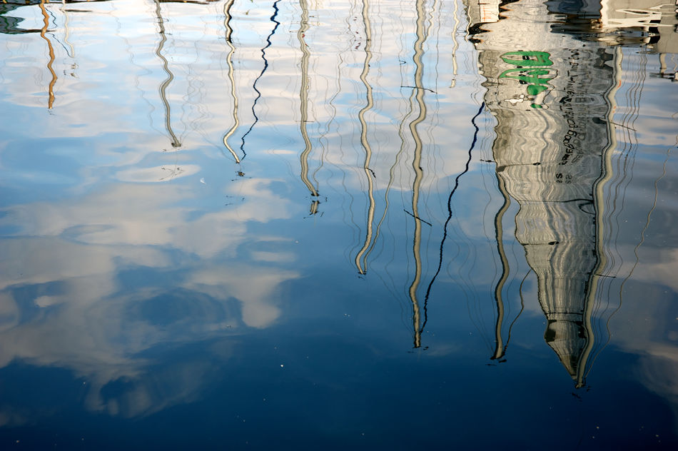 reflections of sail in the sea Blue Boat Close-up Lineart Minimalism No People Outdoors Reflection Sail Sea Trieste Water Reflections Summertime Travel Pictures Art Is Everywhere EyeEmNewHere Break The Mold TCPM