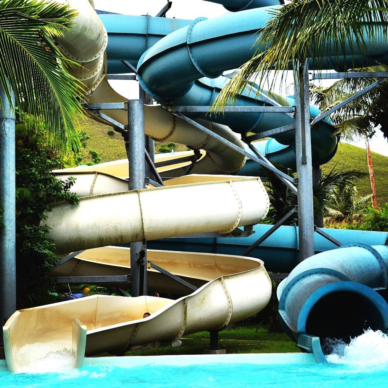 Waterslide Kuendu Beach New Caledonia