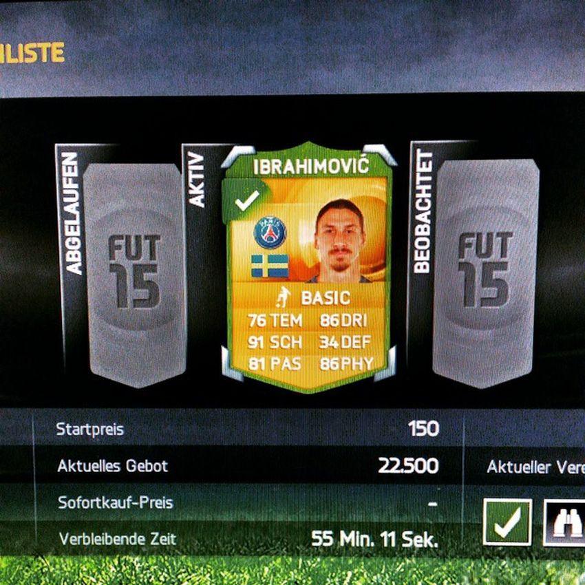 Fifa15 Vielleicht Habe Ich glück zlatan Ibrahimovic