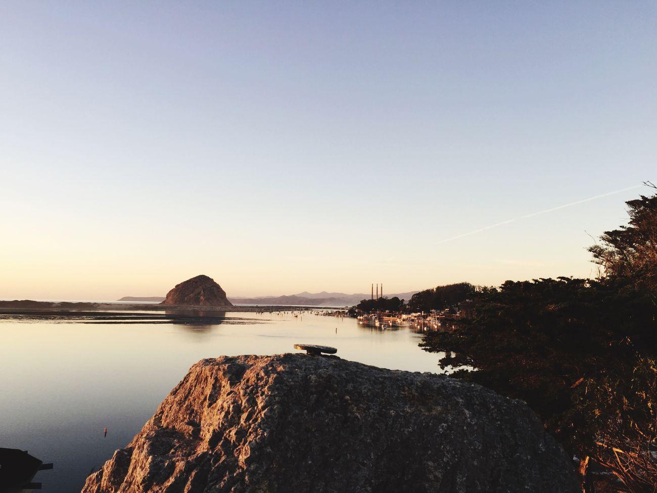 A big ole rock
