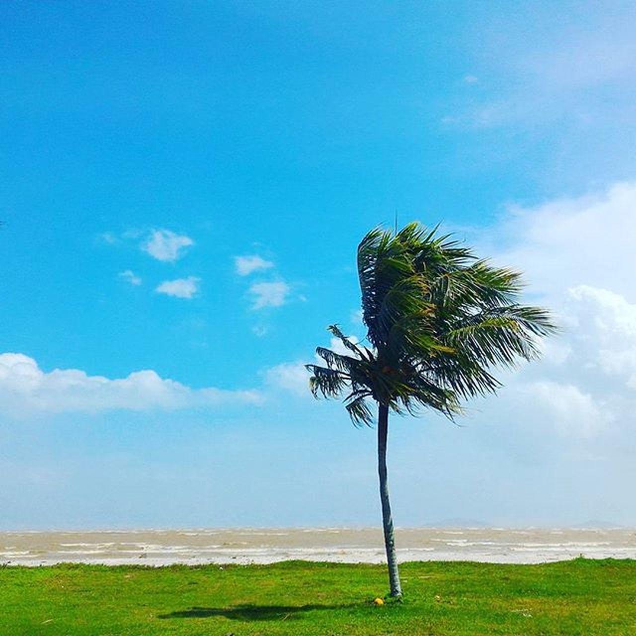 Pantai Mersing Redflag Beach Monsoon Bluesky Mersing Johor Cuticutimalaysia Redahjalanlama JJCM