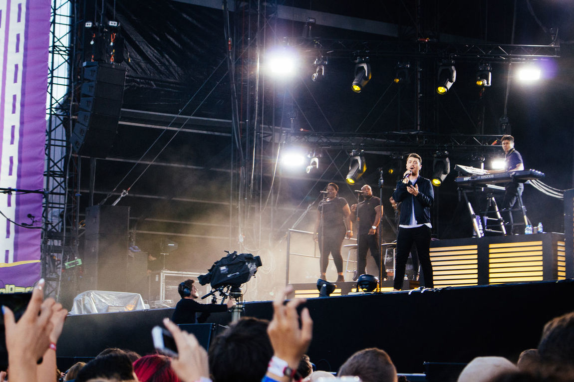 Berlin Concert Concert Photography Crowd Festival Festive Season From My Point Of View James Bond Live Music Lolla Lollaberlin Lollapalooza Lollapalooza2015 Music Musician Sam Smith Sam Smith Concert Tempelhofer Feld