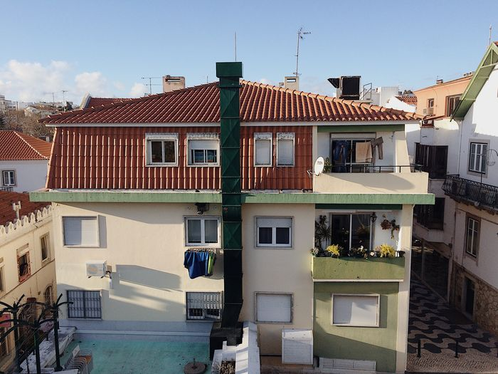 Building Exterior Architecture Built Structure House Residential Building Window Residential Structure (null)Cascais Townhouse Architecture Lisboa Portugal Lisbon Outdoors City Sky No People Day Television Aerial