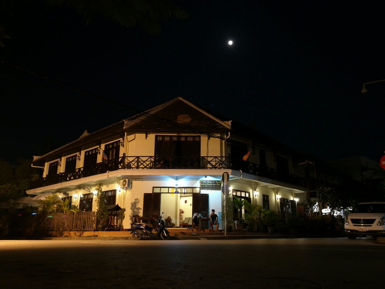 Night Illuminated Building Exterior Built Structure Travel Architecture Building Lao Culture Street Photography EyeEmNewHere Asien Asianstyle Laos Travel Residential Building Nightphotography Night Lights Night Photography Nightlife Home Sweet Home ♥ Home Night City Architecture