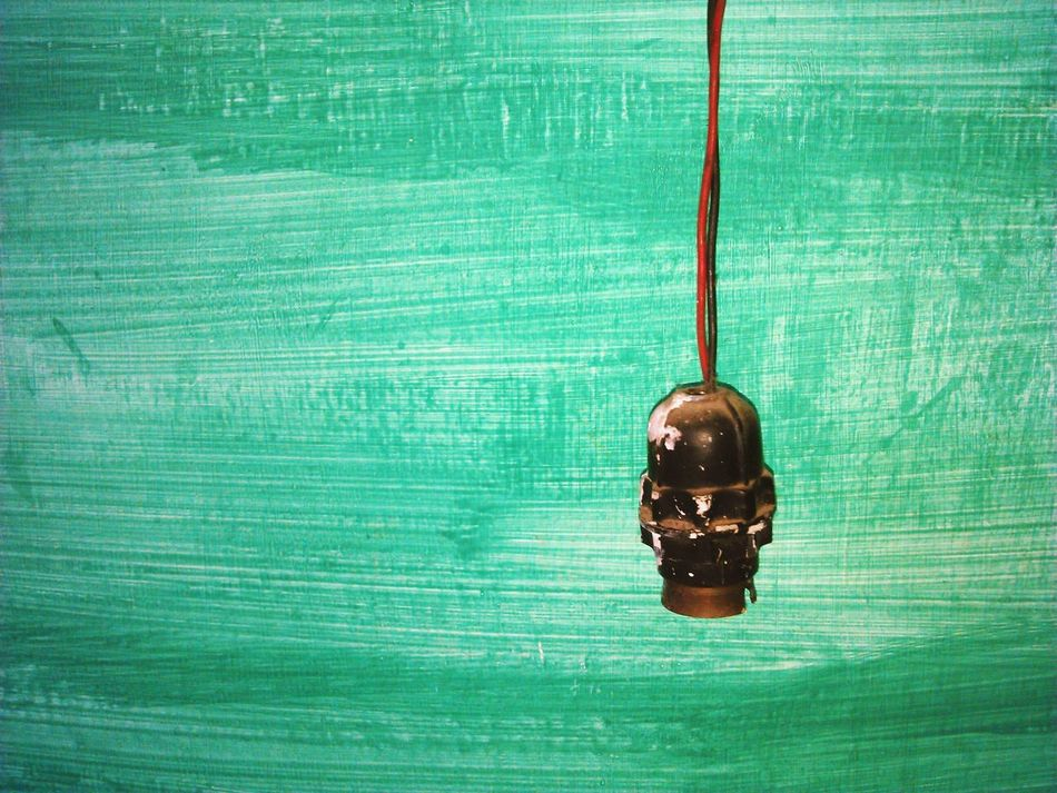 Dusty old bulb holder. Check This Out The Photojournalist - 2015 EyeEm Awards The Rule Of Thirds Antique Old Bulb Holder Wall Painting