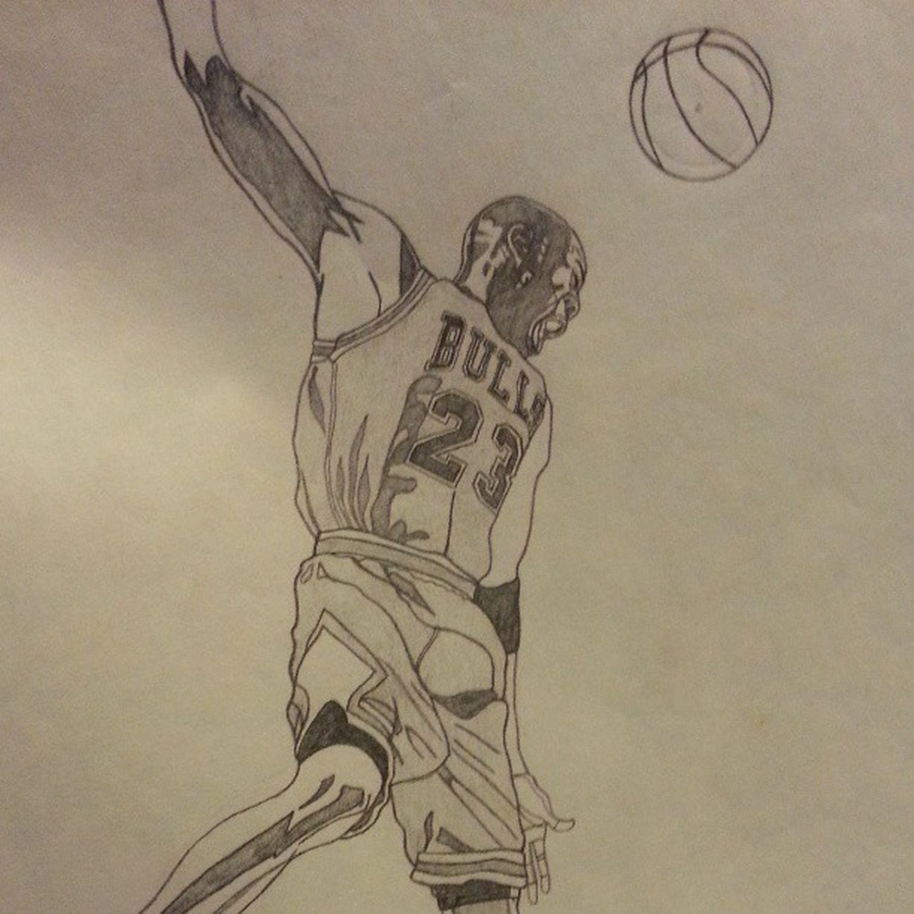 Michaeljordan Dunk NBA Art drawings