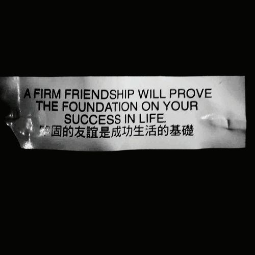 Friends Fortune Cookie Friendship Life Sucsess Foundation