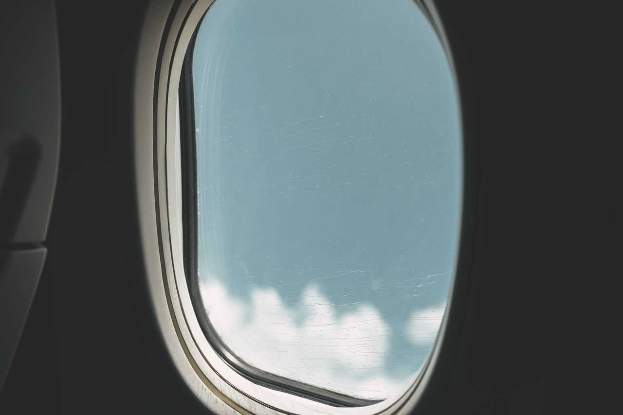 Traveling on Airplane Airplane Window Airplane Window View Clouds Journey No People Transportation Travel Travel Photography Window