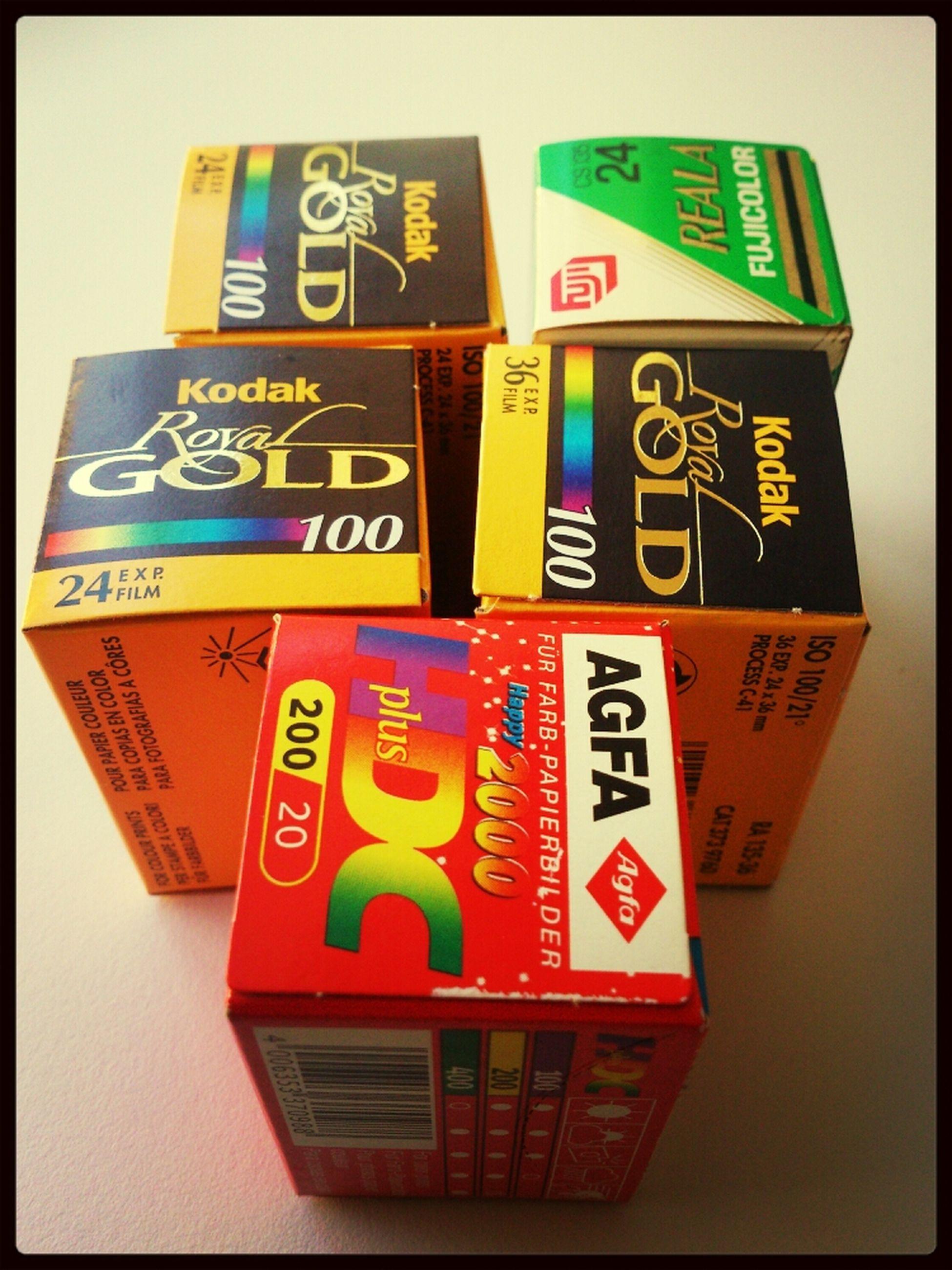 Kodak Film Agfa Expired Film