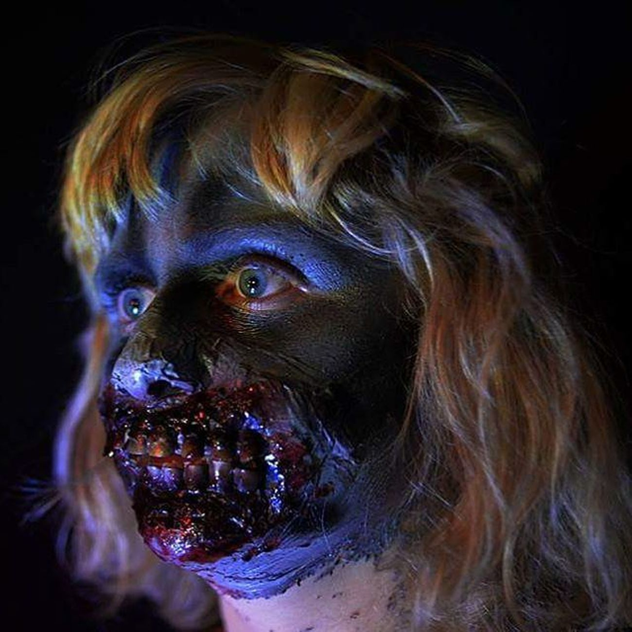 Zombie DOPE Makeup Cool Zombieapocalypse