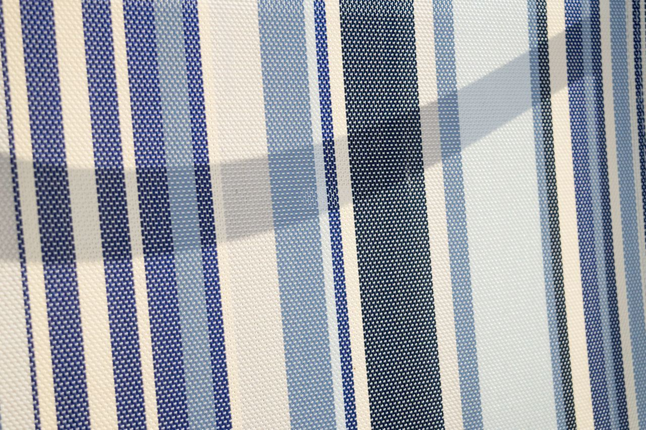 full frame, backgrounds, pattern, striped, textile, textured, close-up, curtain, indoors, multi colored, blue, no people, day