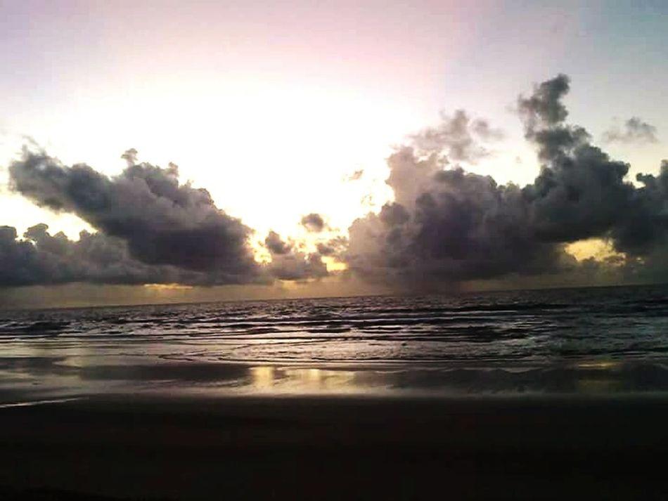 Mayaro Beach (Trinidad and Tobago)... awaiting a sunrise.... Relaxing Hello World Serenity Love Trinbago Beauty