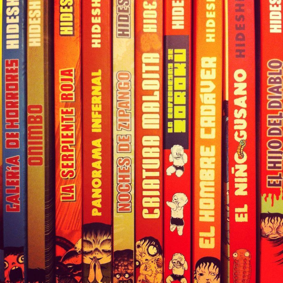 Manga at Comic Store Manga