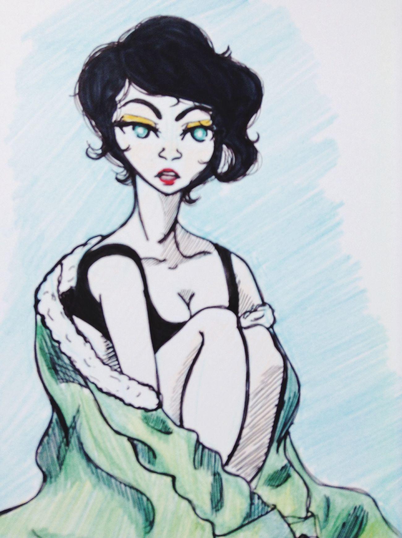 Ilustration Doodle Style Ilustracion
