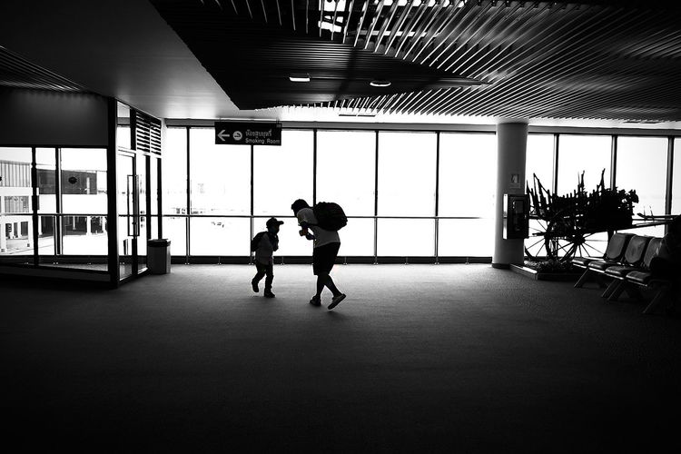 Street Photography Black&white Father&son Fun Times First Eyeem Photo