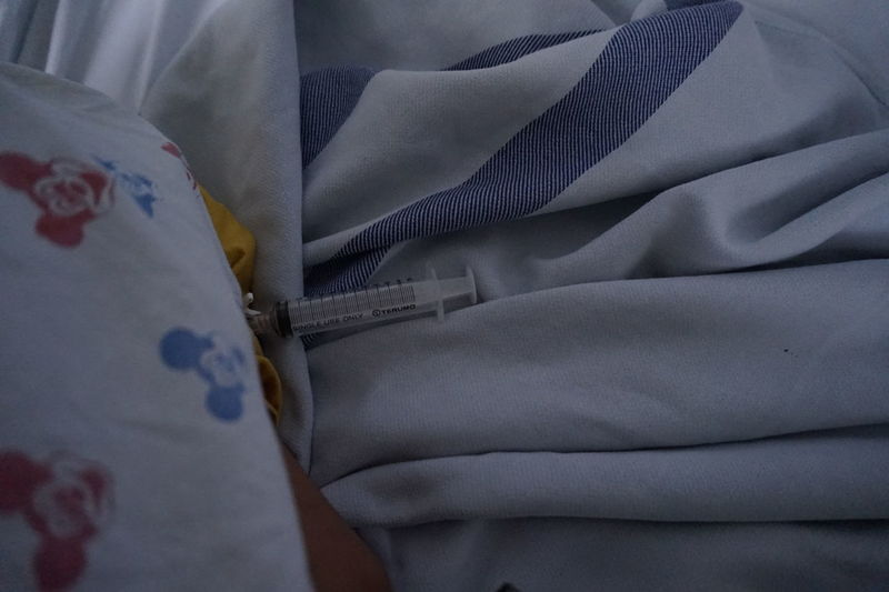 Hospital Bed Bedroom Close-up Day Indoors  Kids In Hospital No People Pillow Sheet Textile