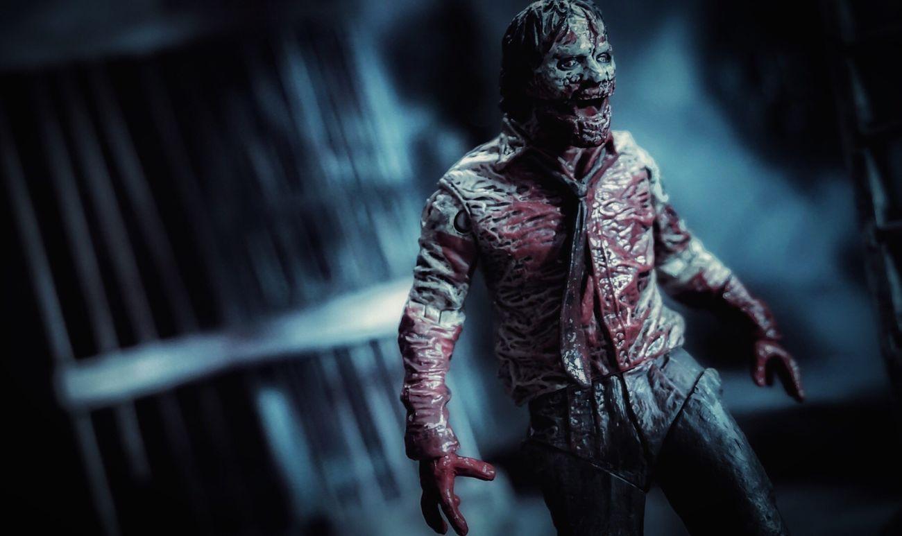 ToyAesthetics CinematicToyPhotography DramaticToyscene Thewalkingdead Horror Photography Toycommunity Mcfarlanetoys Toyphotography Zombie