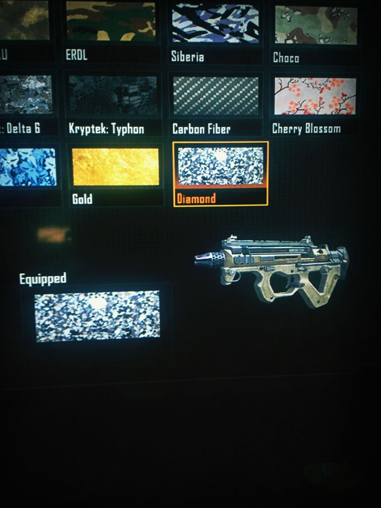 Finally got my diamond camo