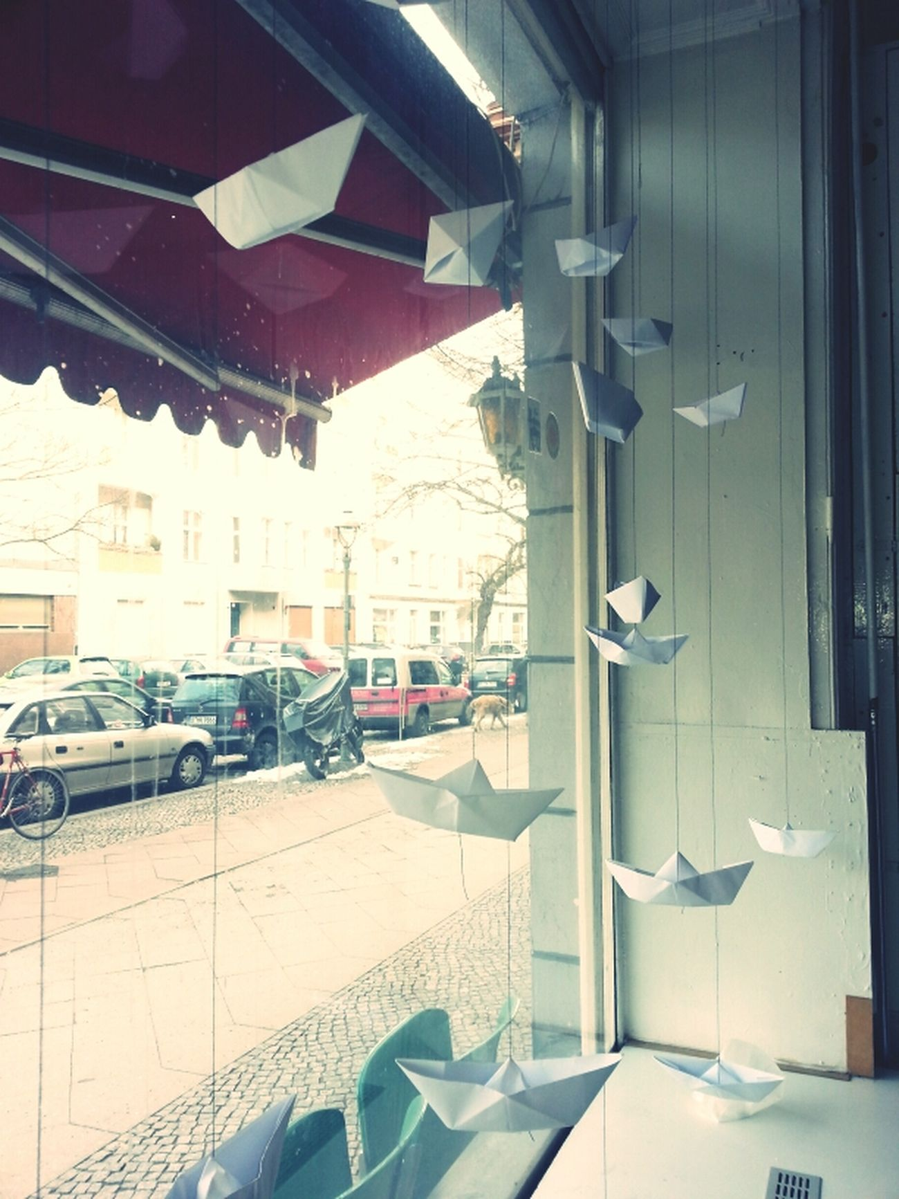 From My Window Origami Installation Neue Heimat