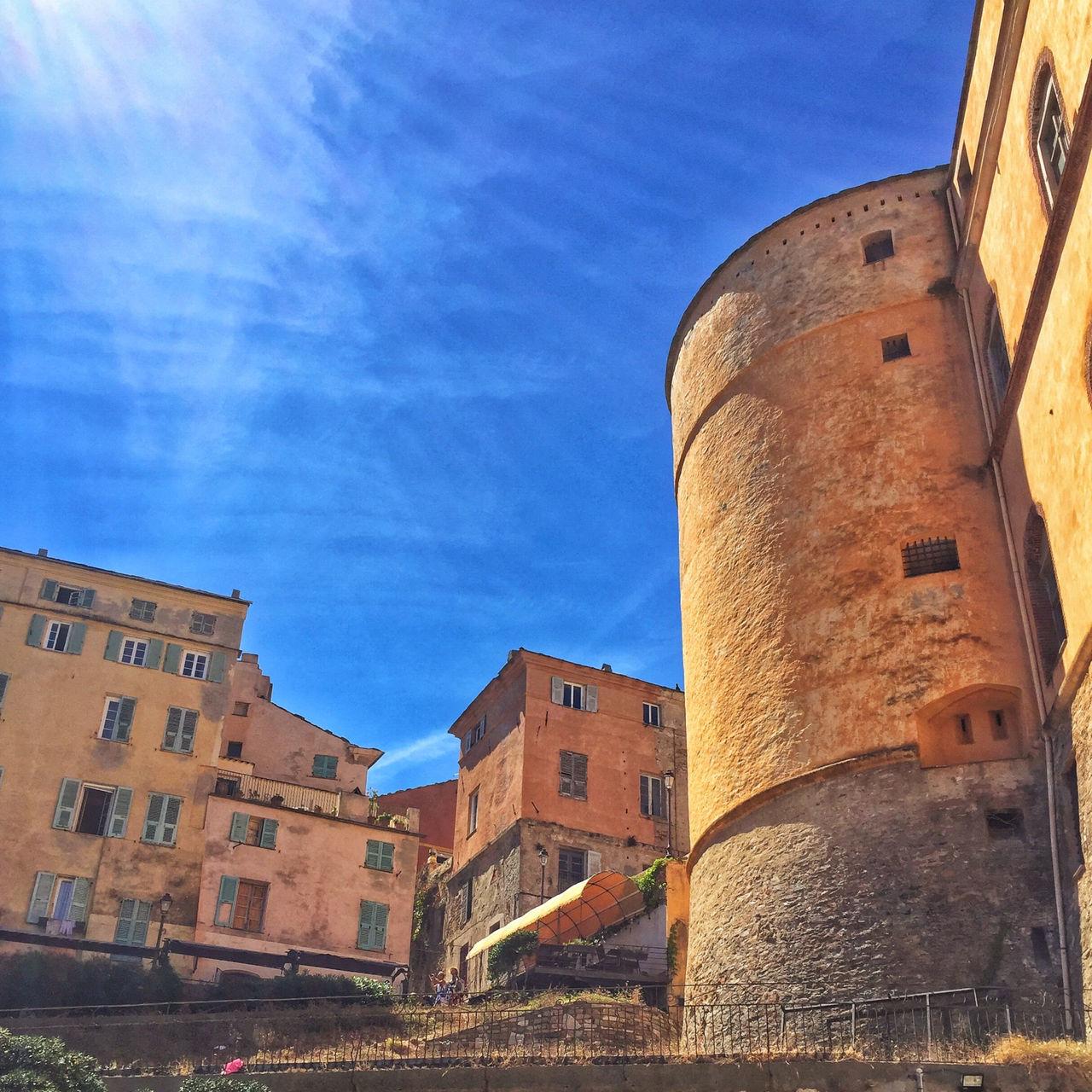 The citadel in Bastia, Corsica. Taken mid summer 2016 Architecture Bastia Blue Building Exterior Cita Corsica Outdoors Sky Summer Sunlight