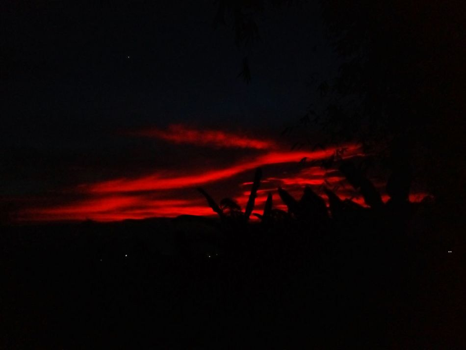 Red Dark Night No People Star - Space Outdoors Astronomy Galaxy Fiery Sunset Beauty In Nature Twillight Sunset Magic Hour