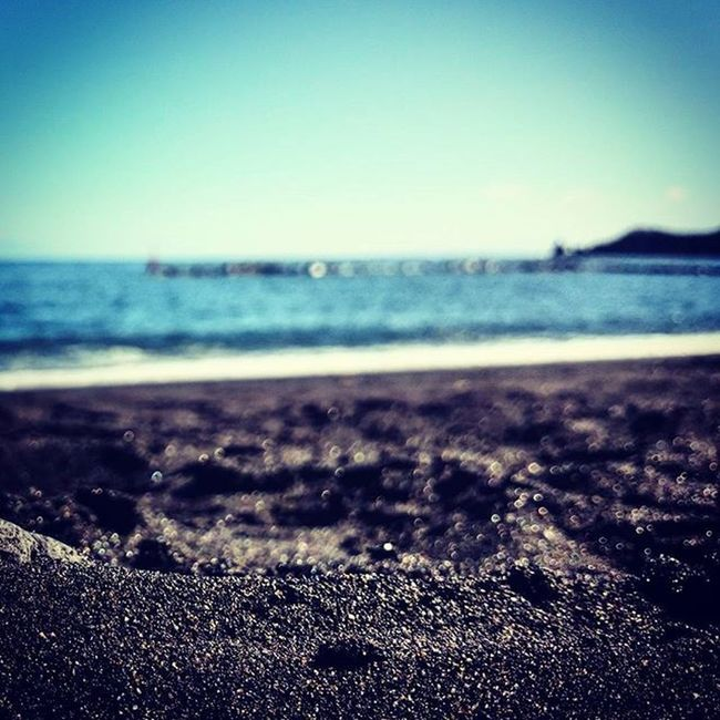 black beach. Beach Sand Waves Santacruzdelapalma Canaries2015