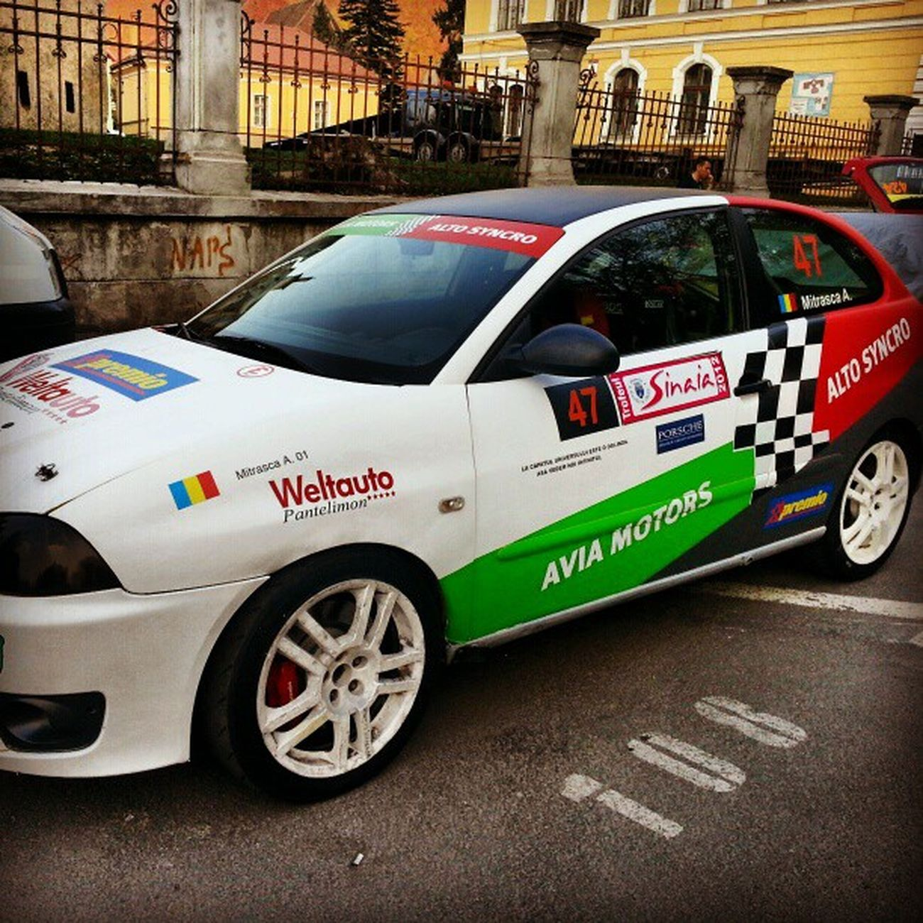 Seat by Alto Syncro Rally Brasov VTM Alto -syncro
