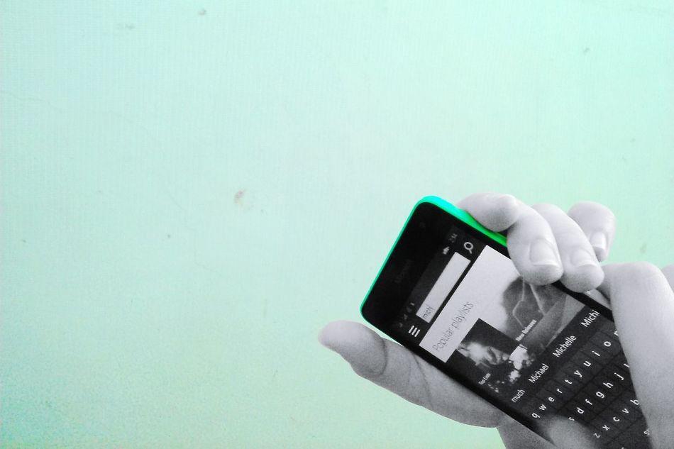 I'm happy that she's happy! ? Microsoft Lumia 535 Green