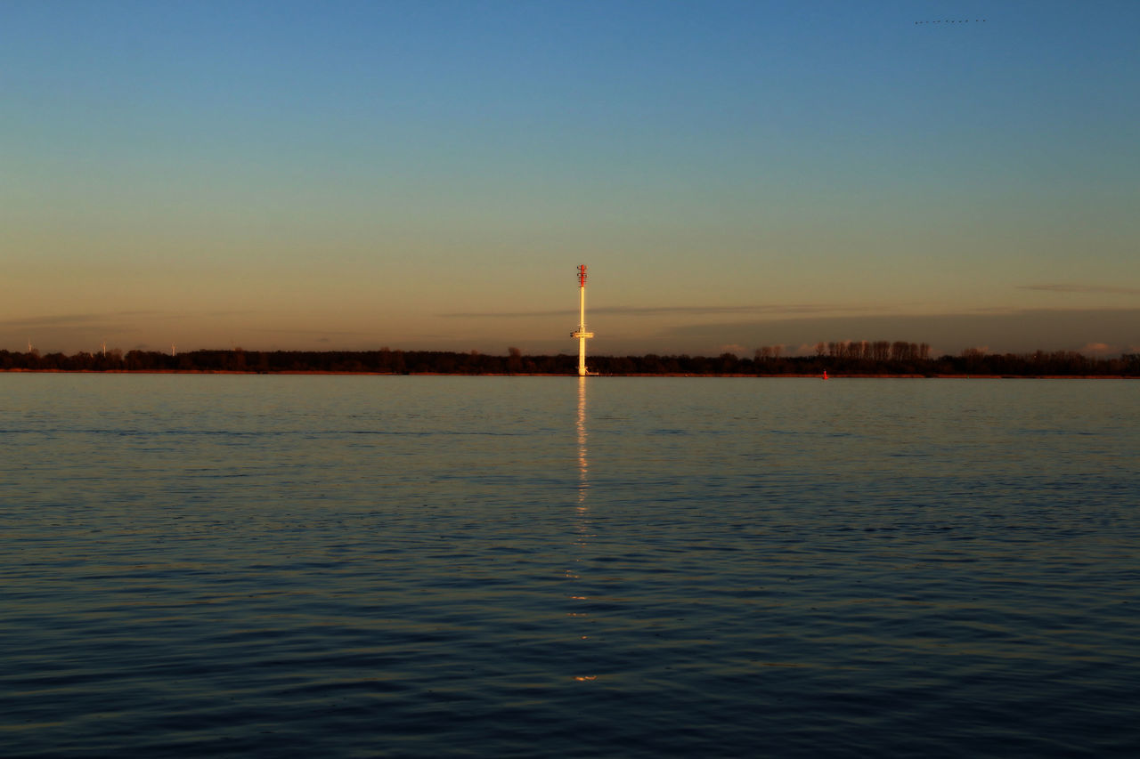 water, sunset, nature, tranquility, no people, waterfront, scenics, sea, outdoors, beauty in nature, clear sky, sport, sky, day