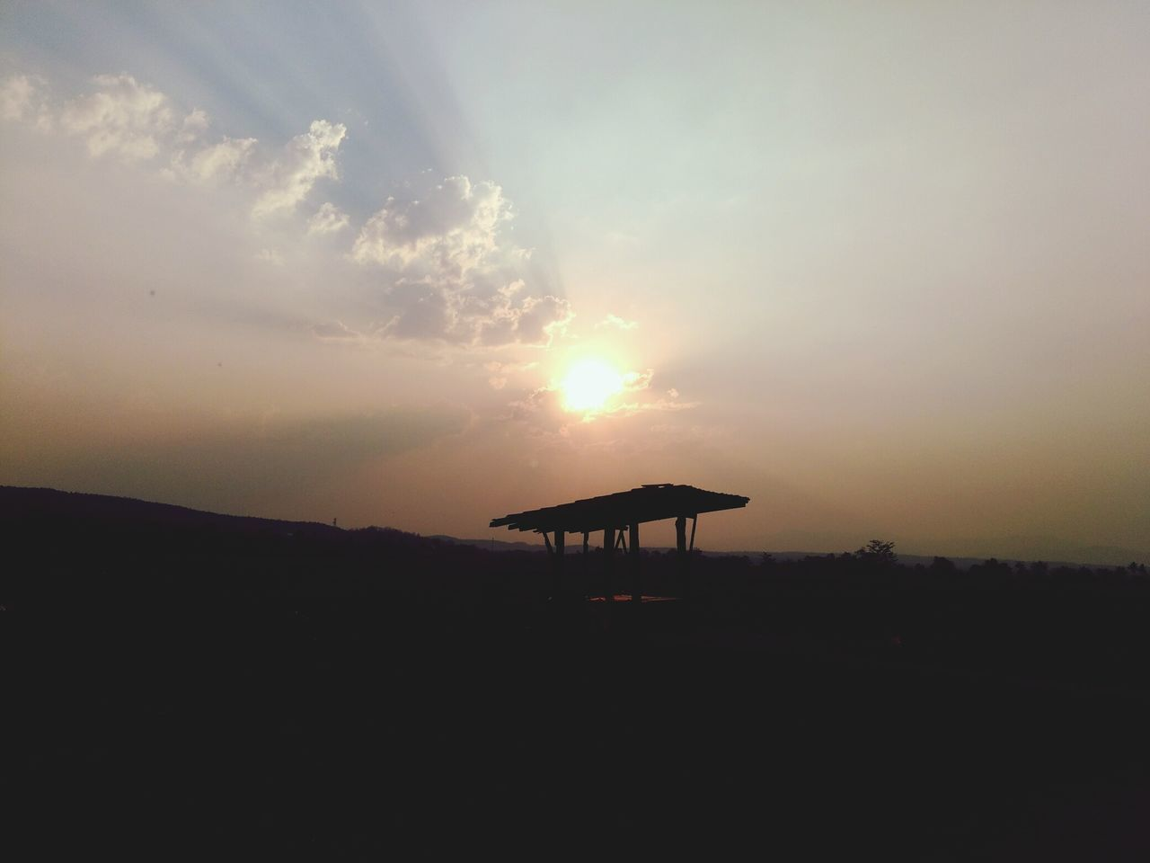 sunset, silhouette, nature, scenics, beauty in nature, tranquility, landscape, tranquil scene, no people, sky, outdoors, day