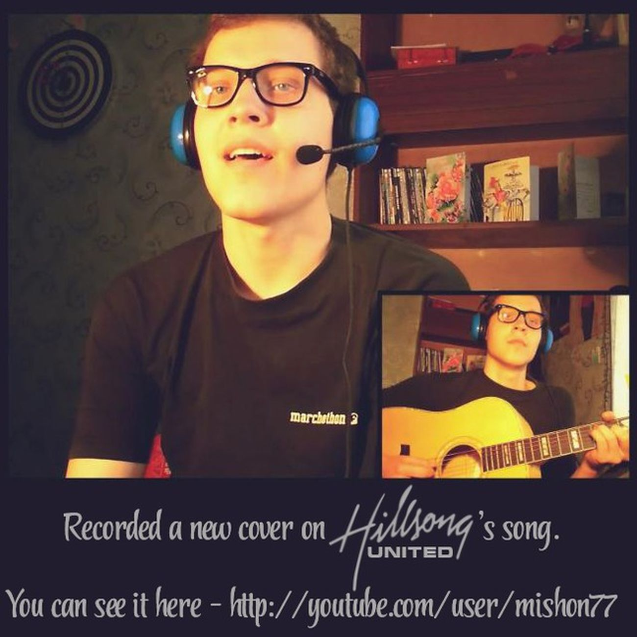 Recorded a New Cover on HillsongUnited 's song. YouCanSeeIt here - https://www.youtube.com/watch?v=yTYKvgMAmow