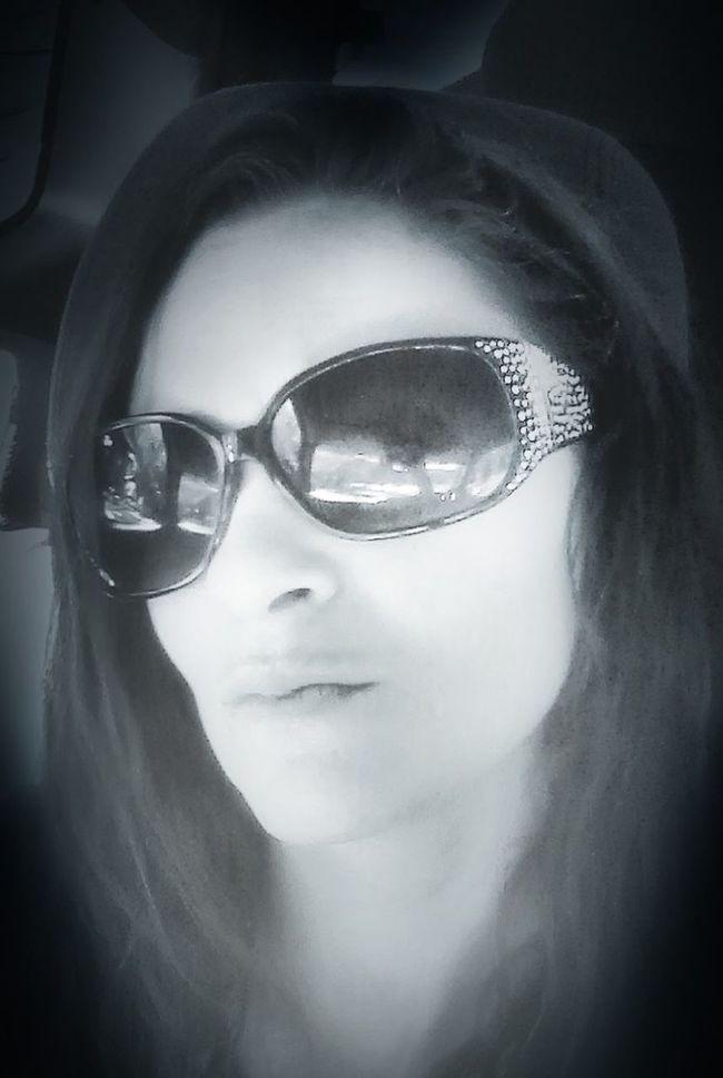 Blackandwhite Selfie ✌ Sunglasses ✌👌 EyeEm Best Edits
