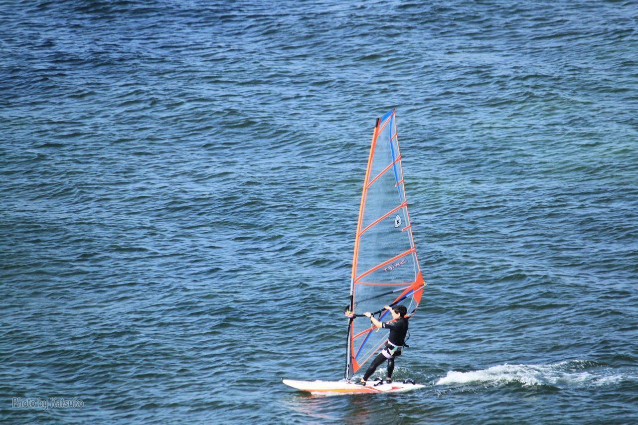 ⭐︎ウインドサーフィン ⭐︎Windsurfing Windsurfing Tokyo Bay Wind Japan Blue Wave