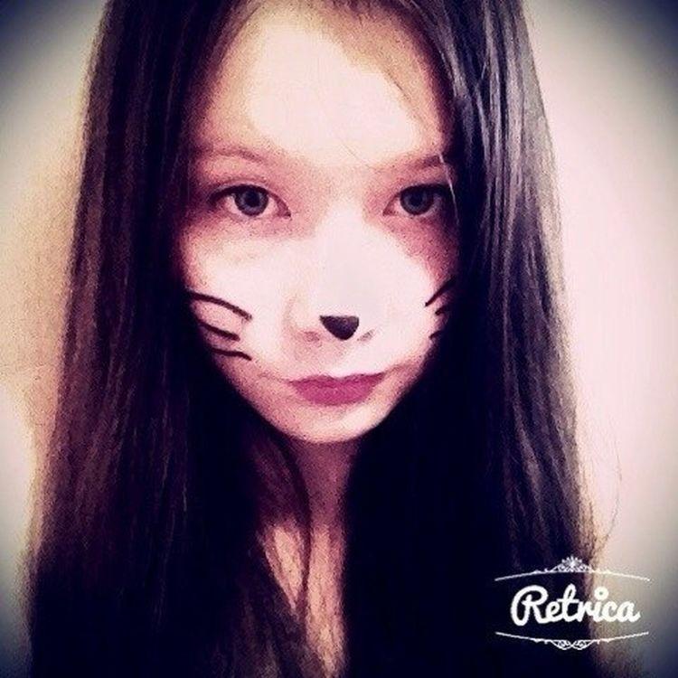 Макияж кошечки)♥