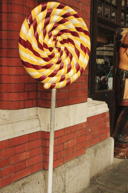 A giant candy! Lollipop Sweet Shop Windsor England Englishsummer  Summertime Memories 2014 Taking Photos Hanging Out