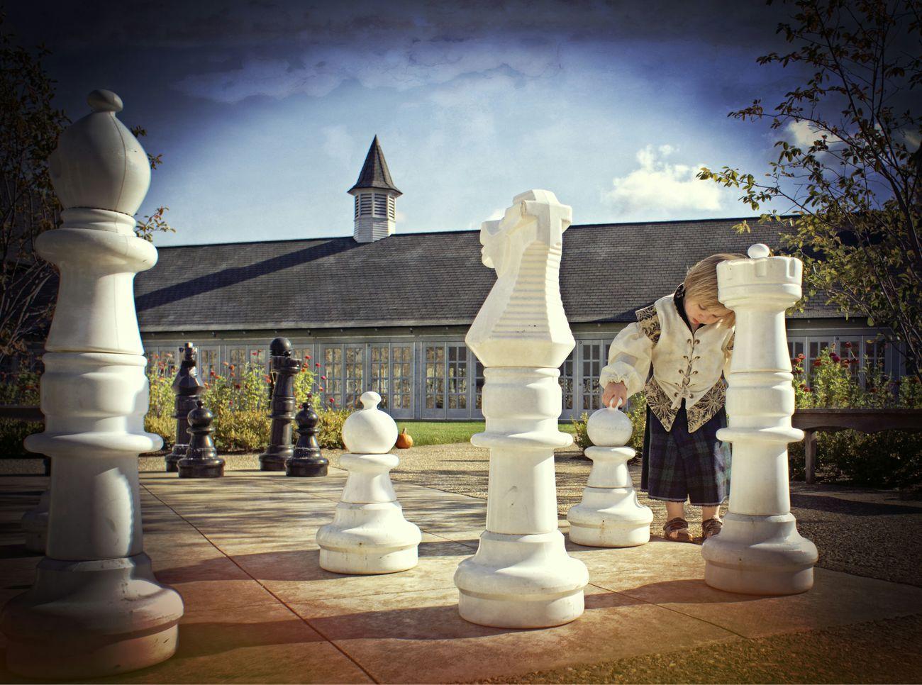 Chesspieces Outdoor Fun Cute Kids Renaissance Castle Grounds Castle Farms Kilt Explorer Mirrorless
