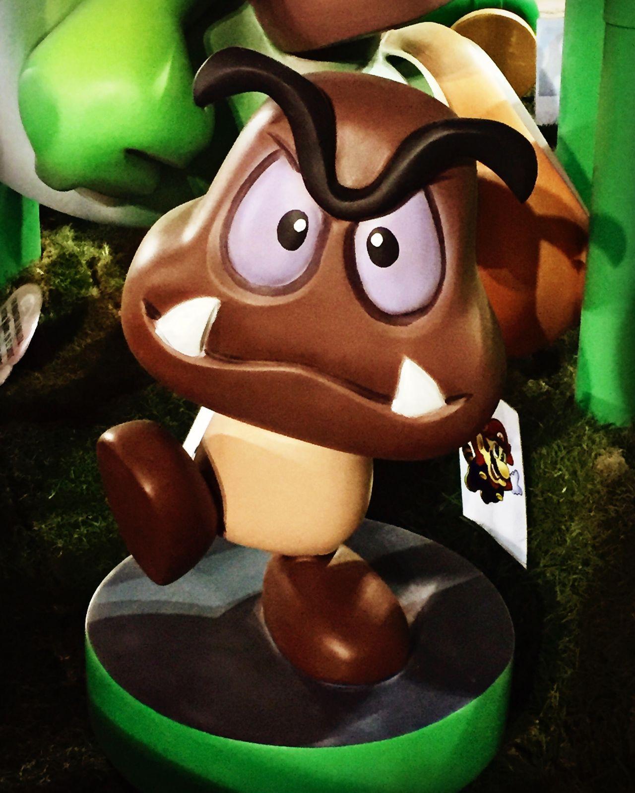Mushroom Mario Bros Art And Craft Celebration Sculpture Close-up No People Halloween Anthropomorphic Face Figurine  Statue Jack O Lantern Day Champiñon Mushroom Mario Bros