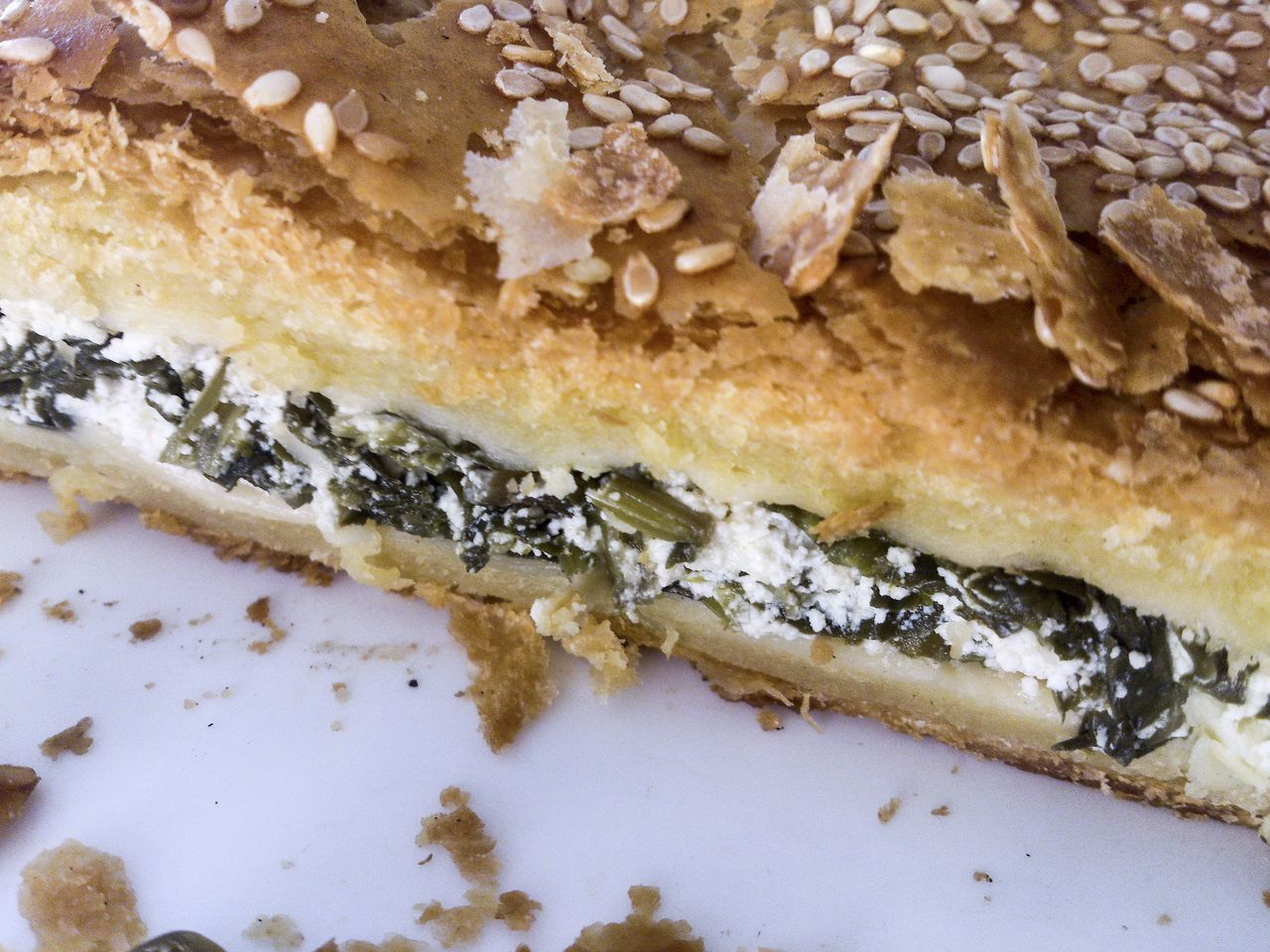 Spanakopita. Greek Feta and Spinach Pie Appetizer Close-up Cuisine Delicious Food Feta Feta Cheese Filó Greece Greek Healthy Healthy Food Mediterranean  No People Pastry Pie Snack Spinach Tasty Traditional Vegetarian Food
