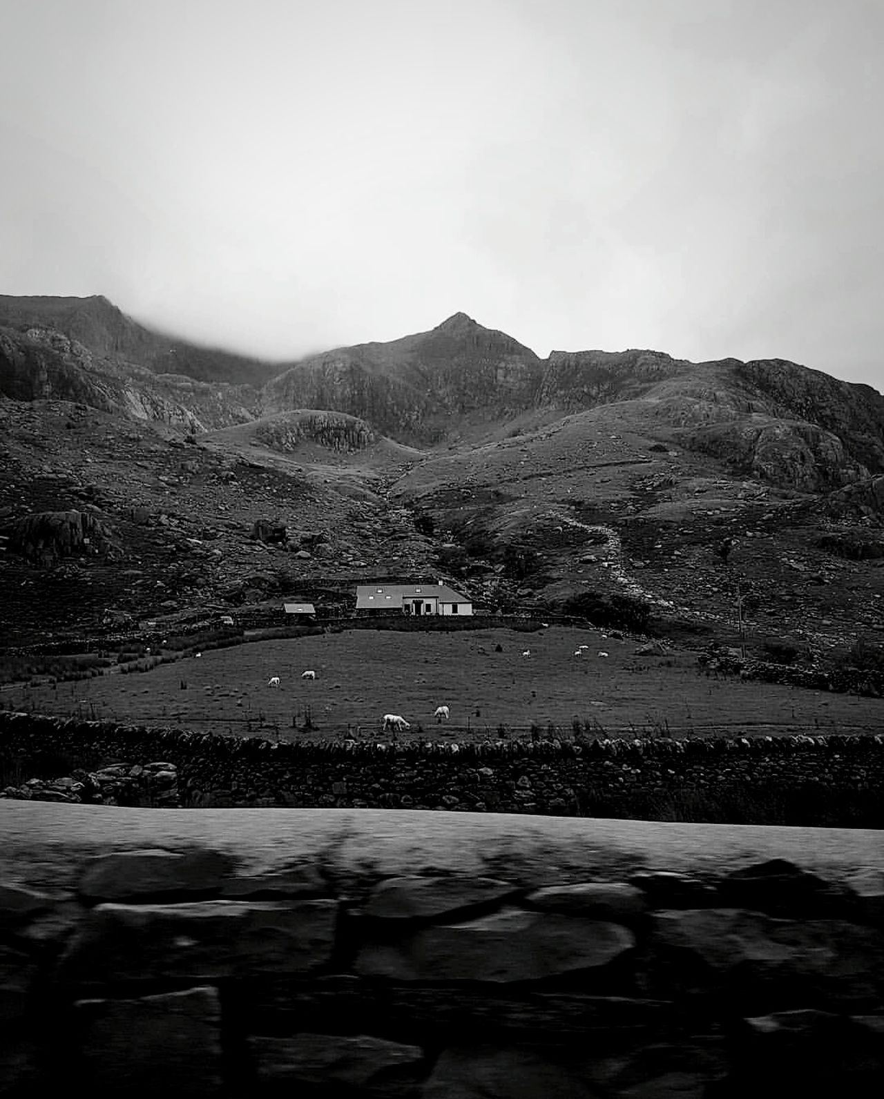 Living in motion Landscape Mountain Scenics Nature Mountain Range Outdoors Water Beauty In Nature Sky Day Snowdonia Wales Vintage Backgrounds Winding Road Mountain Road Journey Travel Rustic Cottage Clouds