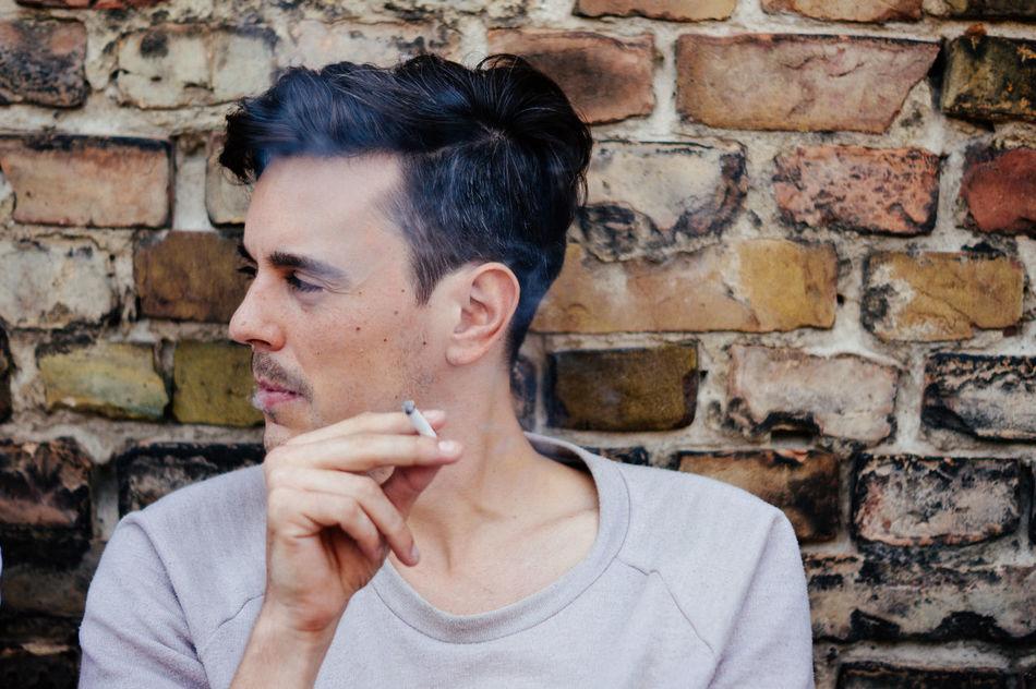 Beautiful stock photos of smoke, Addiction, Bad Habit, Brick Wall, Casual Clothing