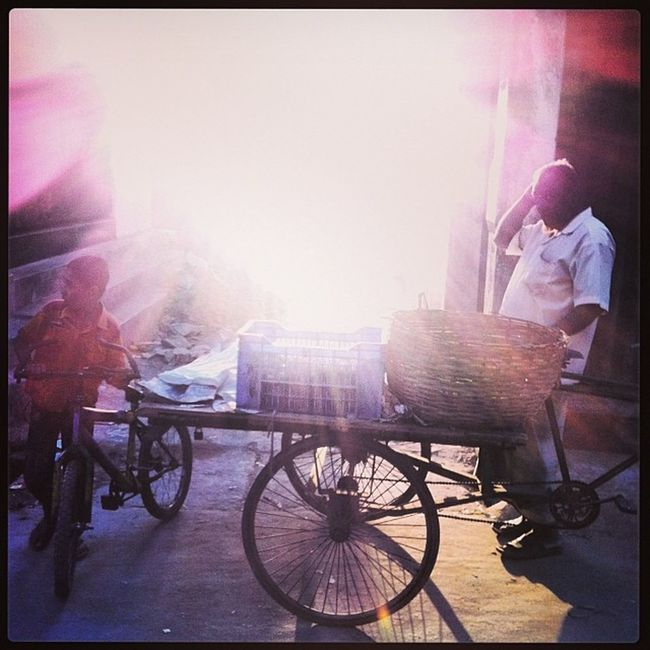 Winter Light Sun Shadow Evening Vendor Street dailyLife Chittagong Chaktai City Instagram